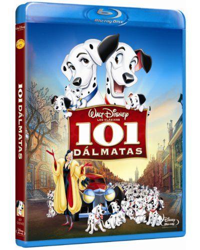 101 Dalmatas Formato Blu Ray Malvados De Disney Peliculas De Disney Peliculas De Animacion