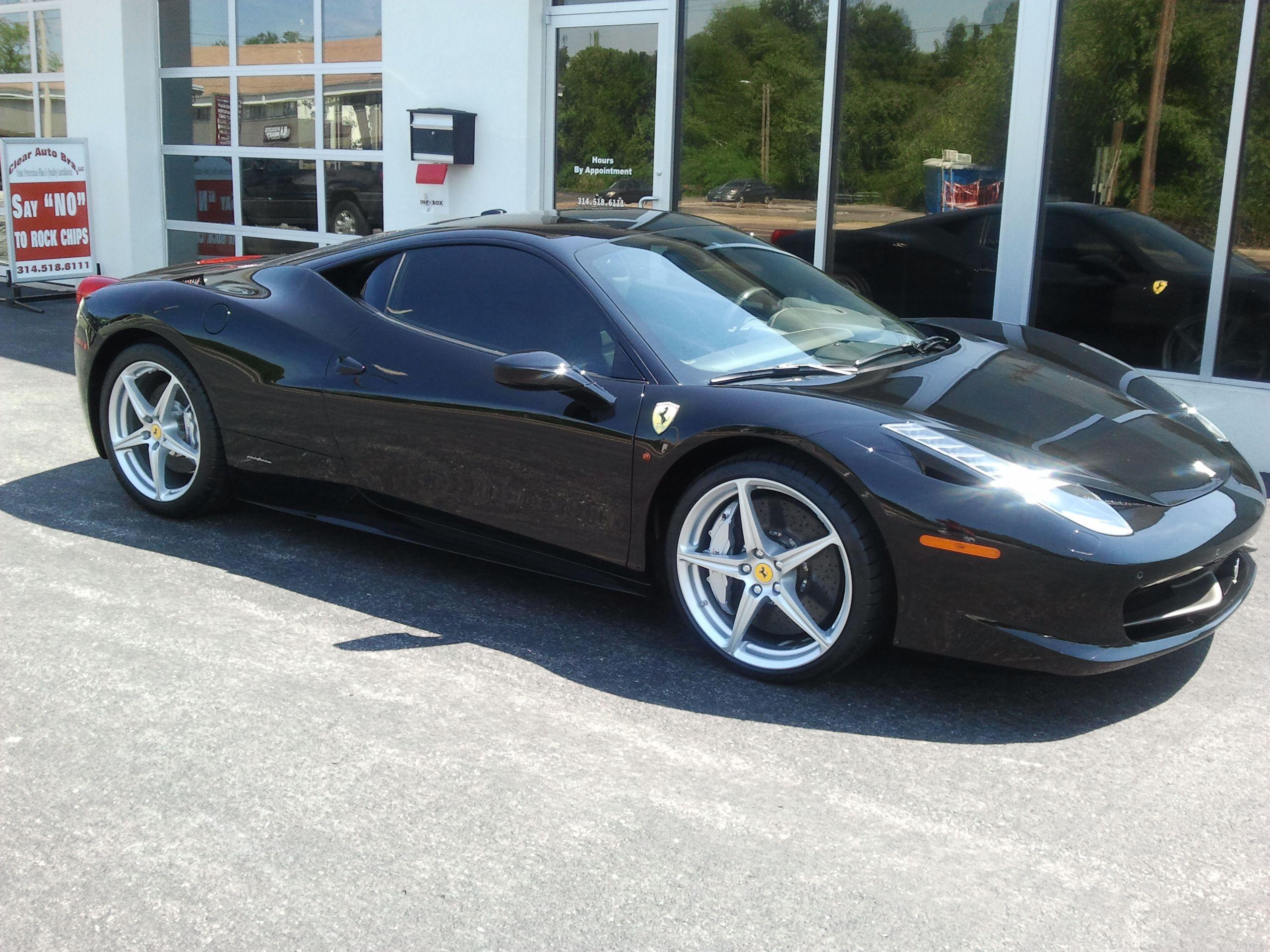 Ferrari 458 Window Tint Clear Auto Bra St Louis