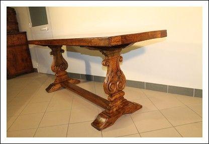Tavolo vecchio ~ Tavolo antico fratino epoca 700!noce massello tavolino scrivania