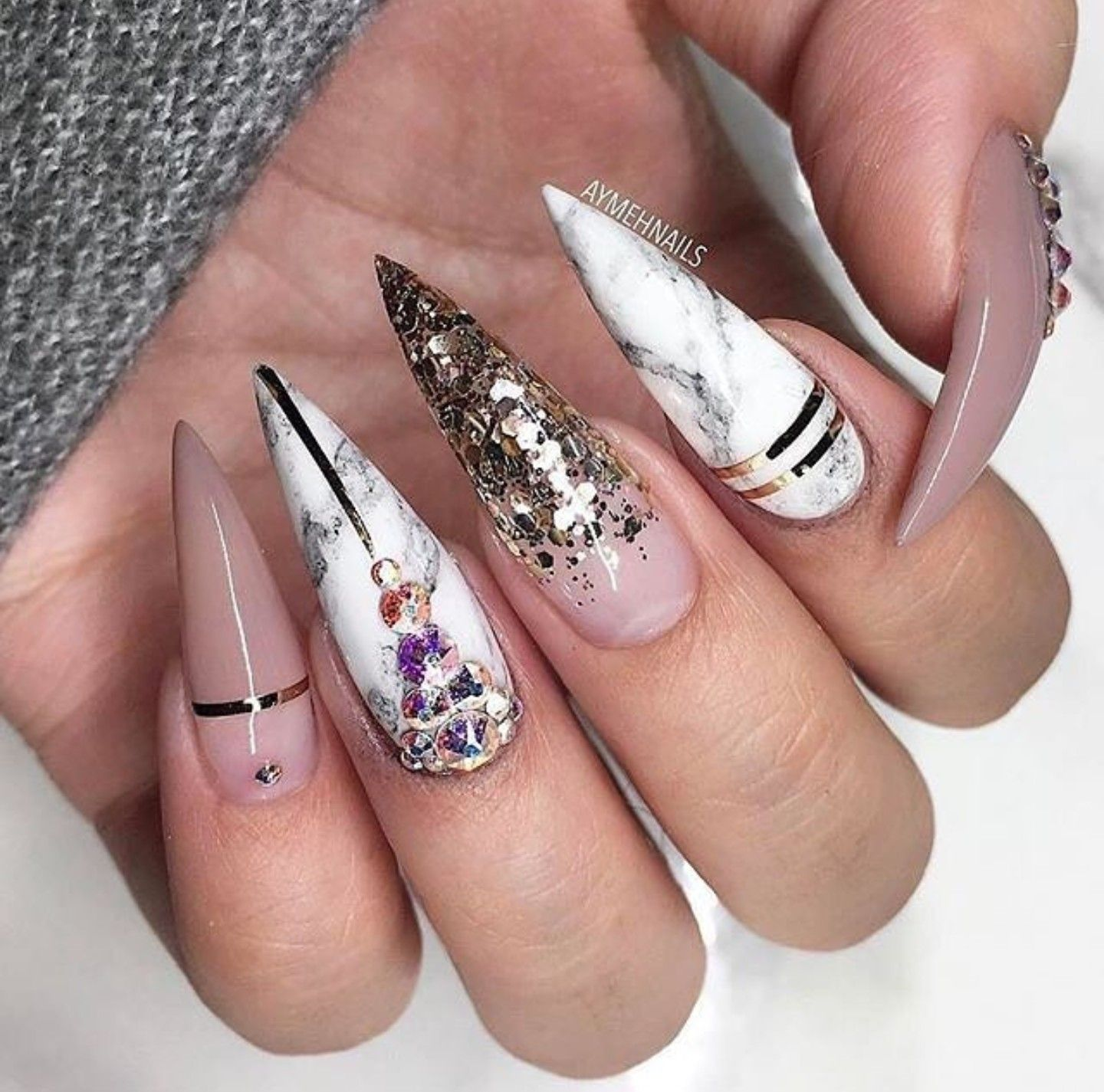 Pinterest : shanonduvers | Nails | Pinterest | Sophisticated nails ...