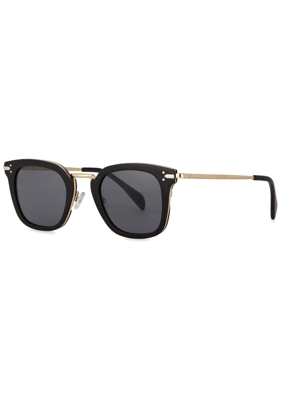 8b877e8bed Céline black acetate sunglasses Grey lenses