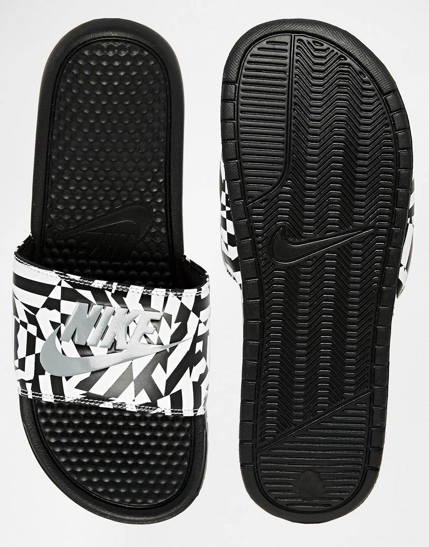 Goes With Both Looks Nike Benassi Jdi Slides  Nike Benassi, Shoe Boots, Nike Slippers-4317