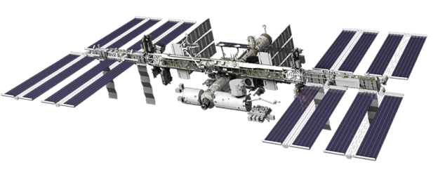 International Space Station Transparent Background