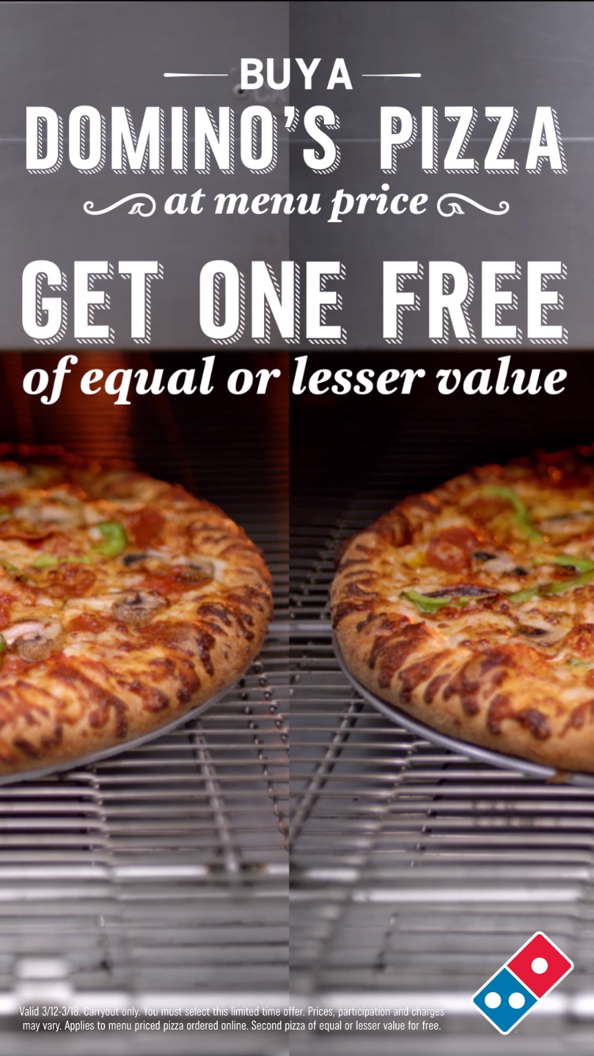 There S No Pizza Like Free Pizza This Week Only Buy One Pizza At
