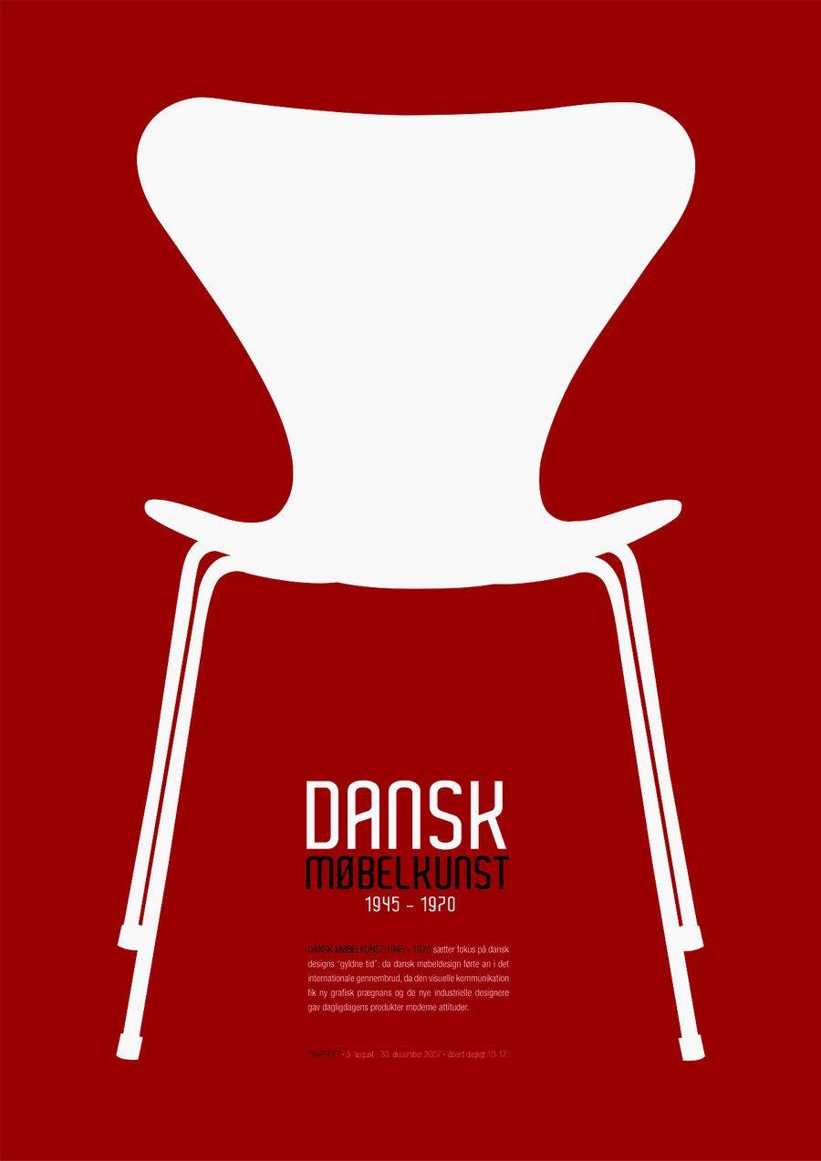 Via Emma Sivell Arne Jacobsen Series Chair Red