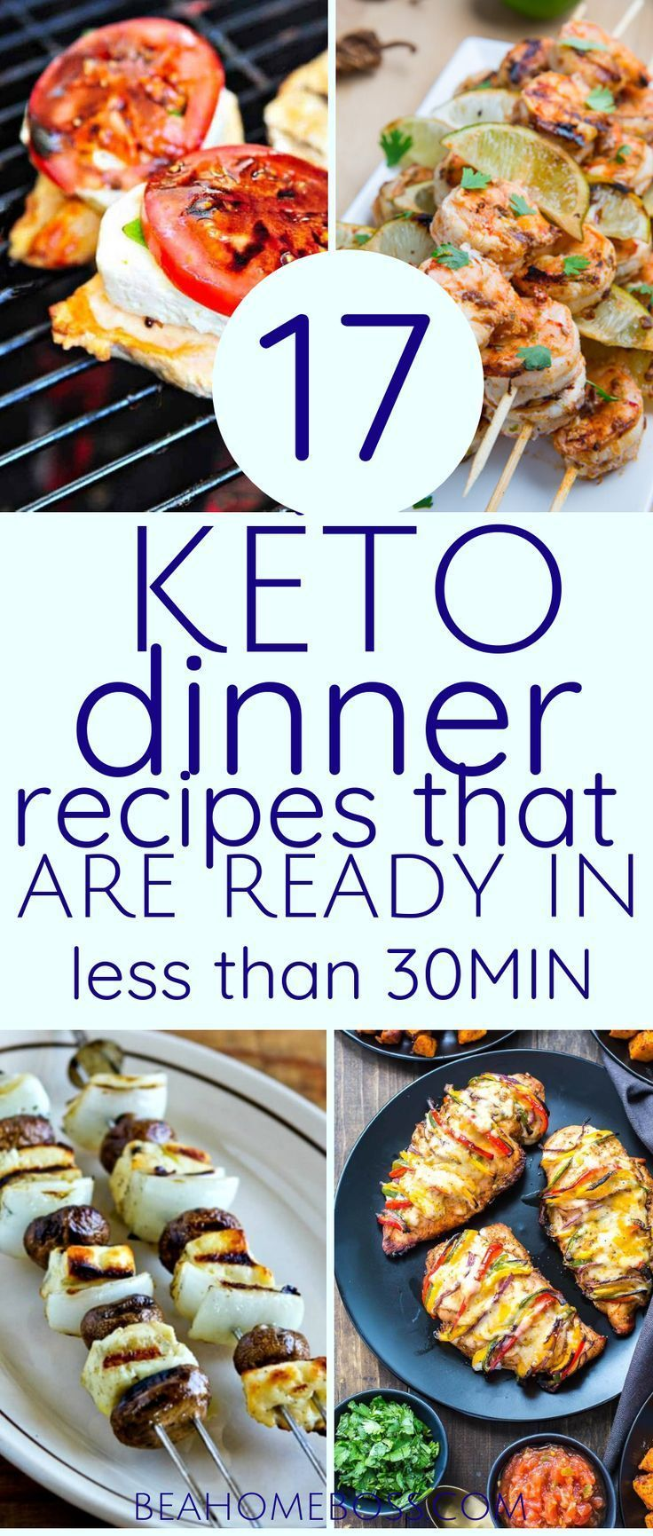 50+ Keto Dinner Ideas Made in 30 Minutes or Less (Updated for 2019) — Home Boss
