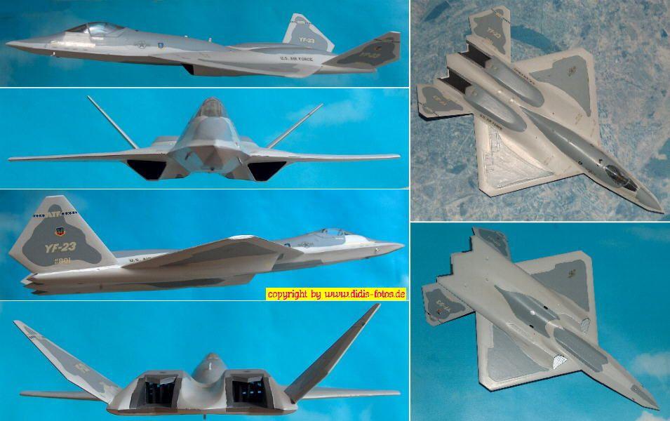 Northrop YF-23A Prototyp 1 (Revell 4017) 1:72