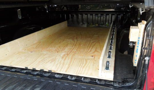 Truck Bed Slide Plans Bed Plans Diy Blueprints Truck Bed Slide Truck Bed Organization Truck Bed Storage
