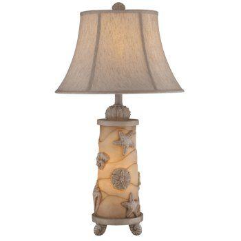 Beach Theme Table Lamps | Seashell Night Light Table Lamp