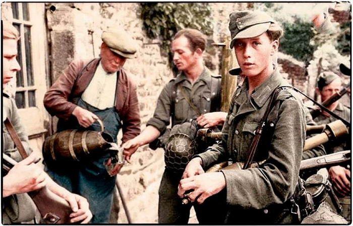 Crónica fotográfica de la Segunda Guerra Mundial 27217 - Maldito Insolente
