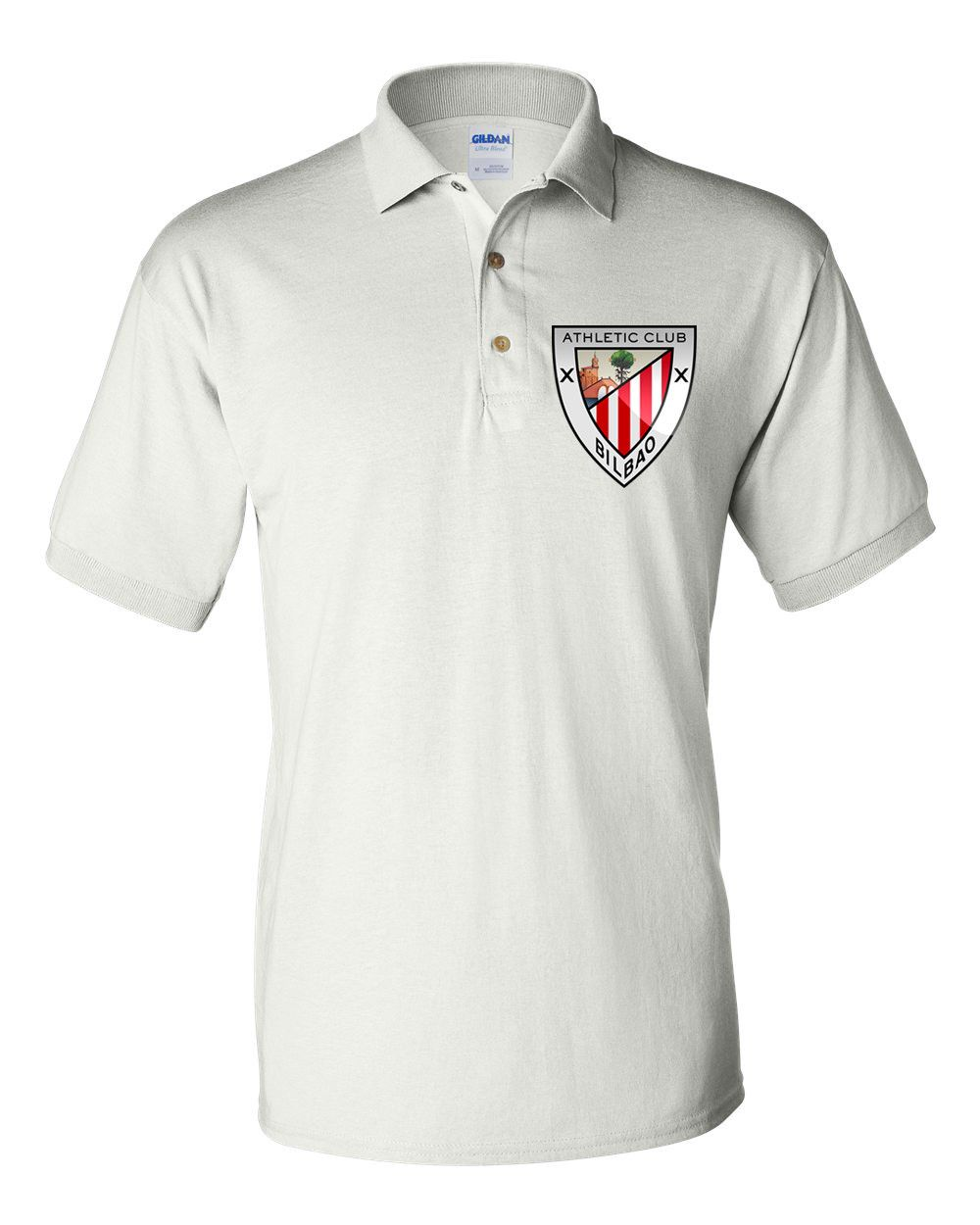 546c703af950f Polo Soccer T-shirt Athletic Club Bilbao