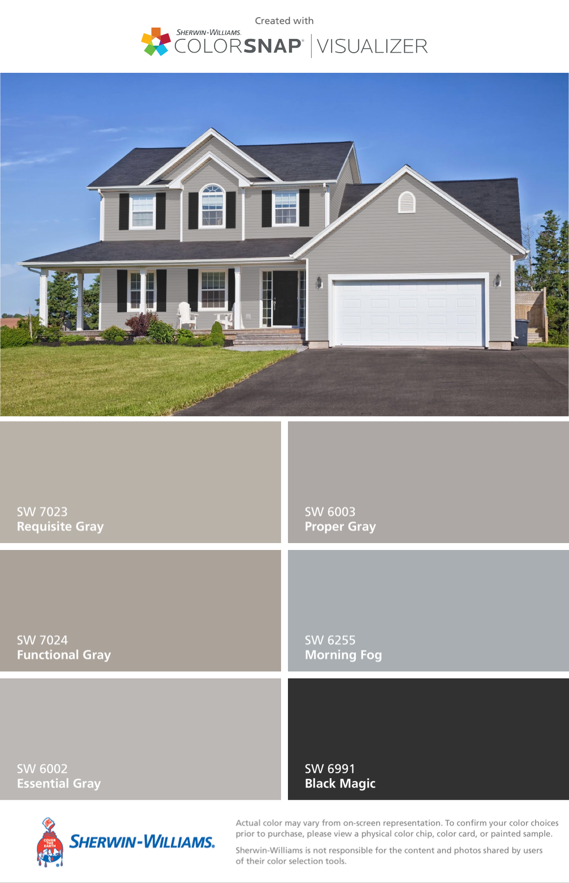 Essential Gray Gray House Exterior House Paint Exterior Outdoor House Paint