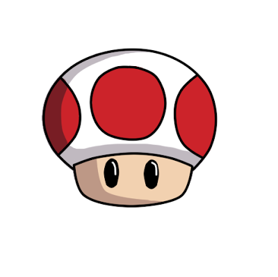 How To Draw Toad From Super Mario Bros Easy Drawings Drawings Toad