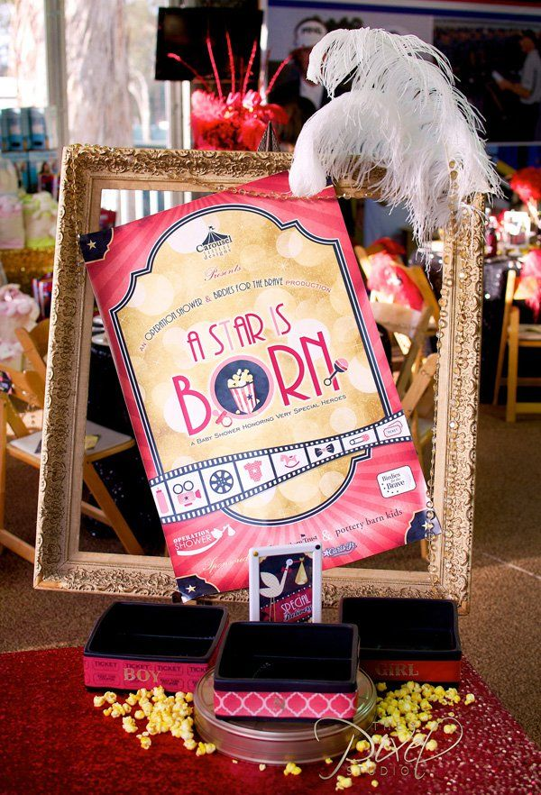A Star is Born Hollywood Baby Shower Theme - Free ...