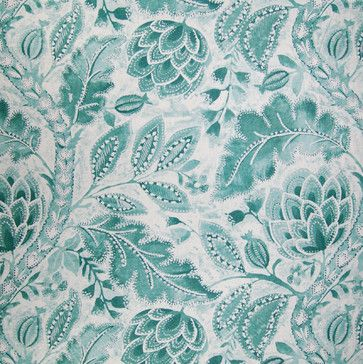 Home Decor GH Rainwater Blues Decorator Fabrics   Blue Paisley   Upholstery  Fabric   Accent Window