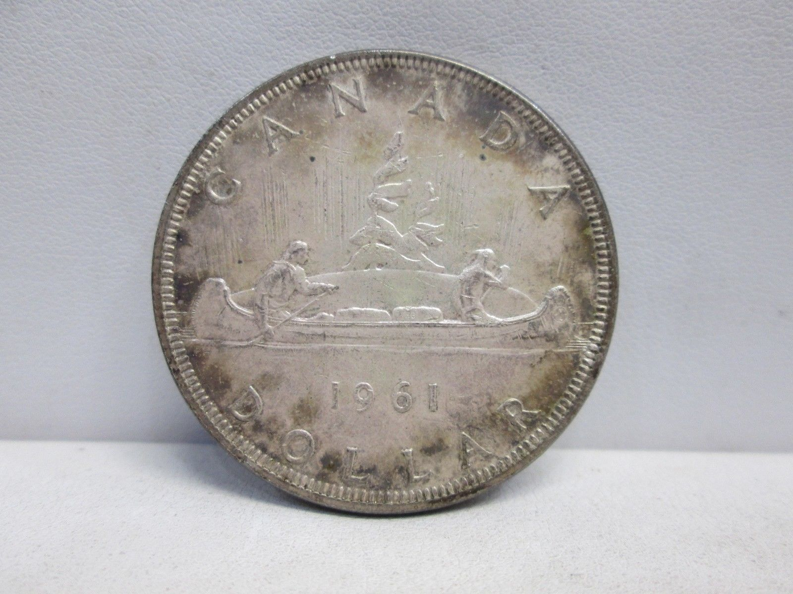 1961 Canadian Silver One Dollar Coin With Images Coins One Dollar Dollar Coin