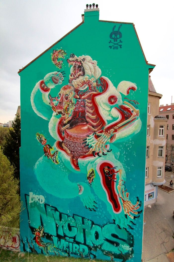 new by Nychos in Vienna, 4/15 (LP)