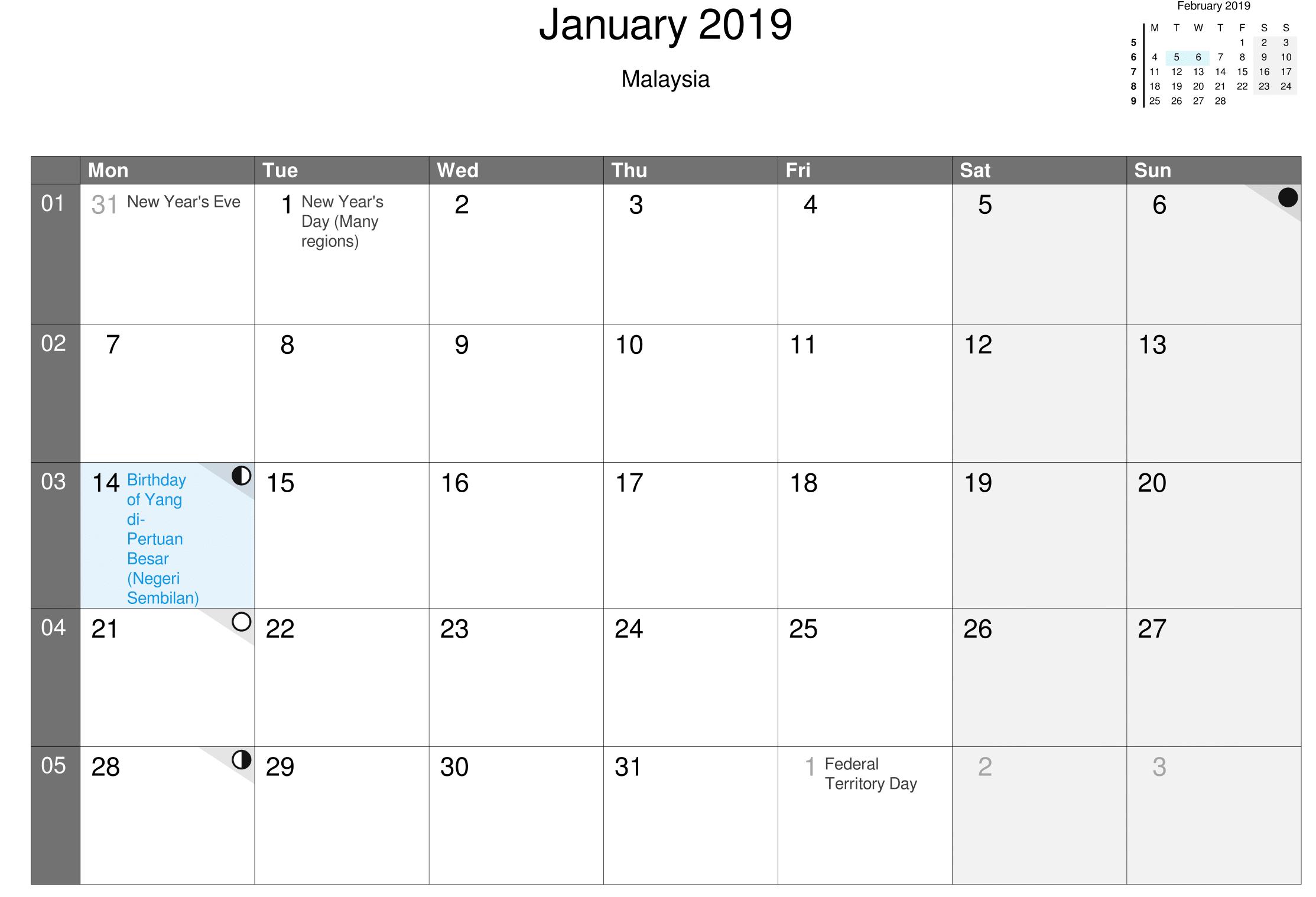 10+ January 2019 Calendar Template ideas | calendar template, calendar 2019  template, january calendar
