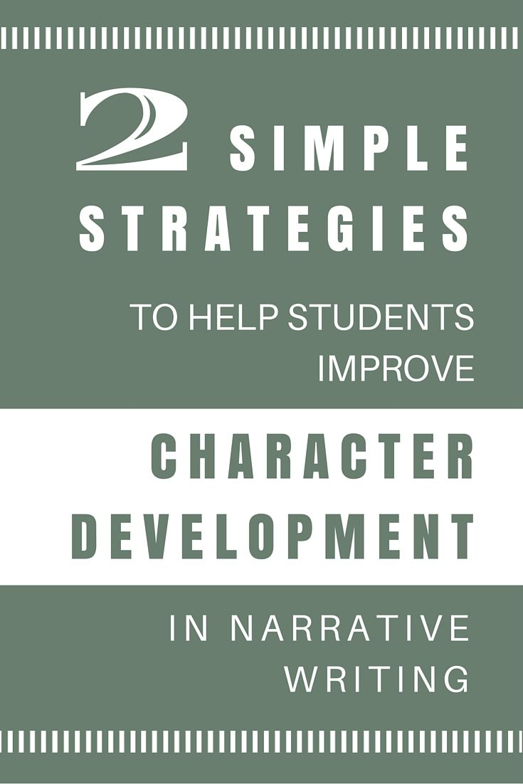 Narrative Writing Trick: Make Characters Come to Life | Narrative ...