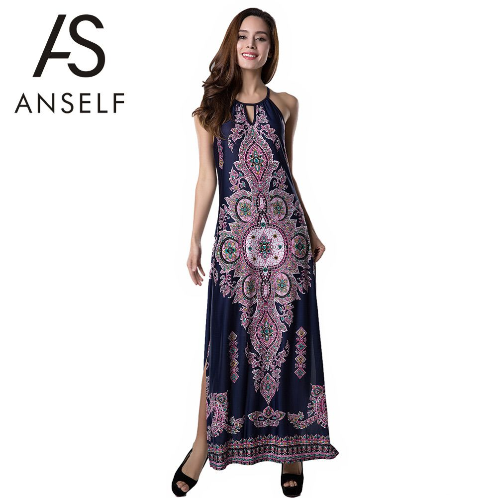 Big save onanself new bohemia style sexy women long dress