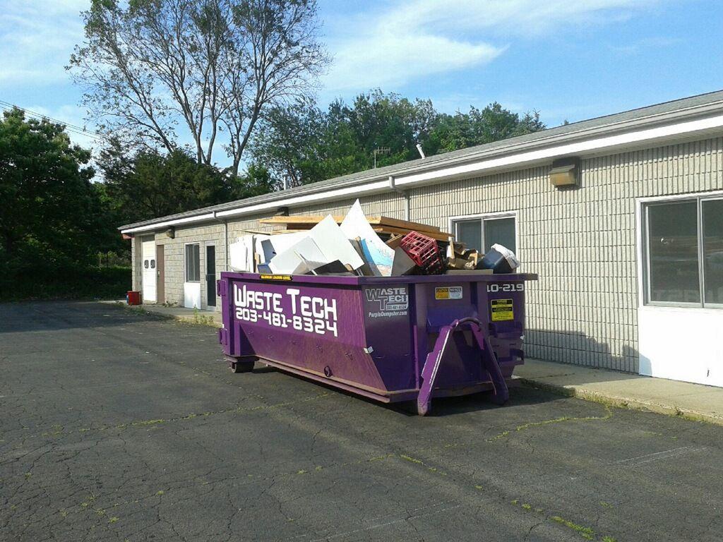 Cleanout dumpster rental in hamden ct dumpster rental