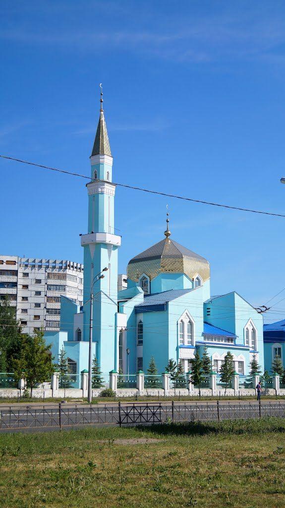 Mosque in Kazan, Tatarstan, Russia                                                                                                                                                      More