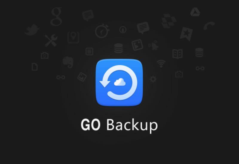 Go Backup Faca O Backup Completo Dos Seus Aplicativos E Dados No