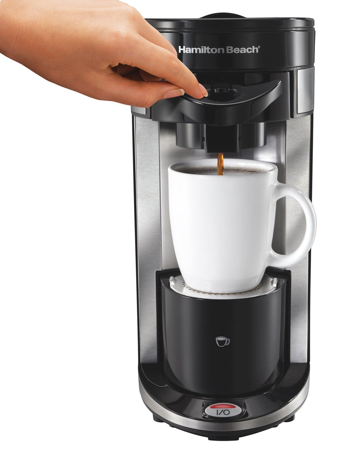 Hamilton Beach 49995 Flexbrew Single Serve Coffeemaker Coffee Maker