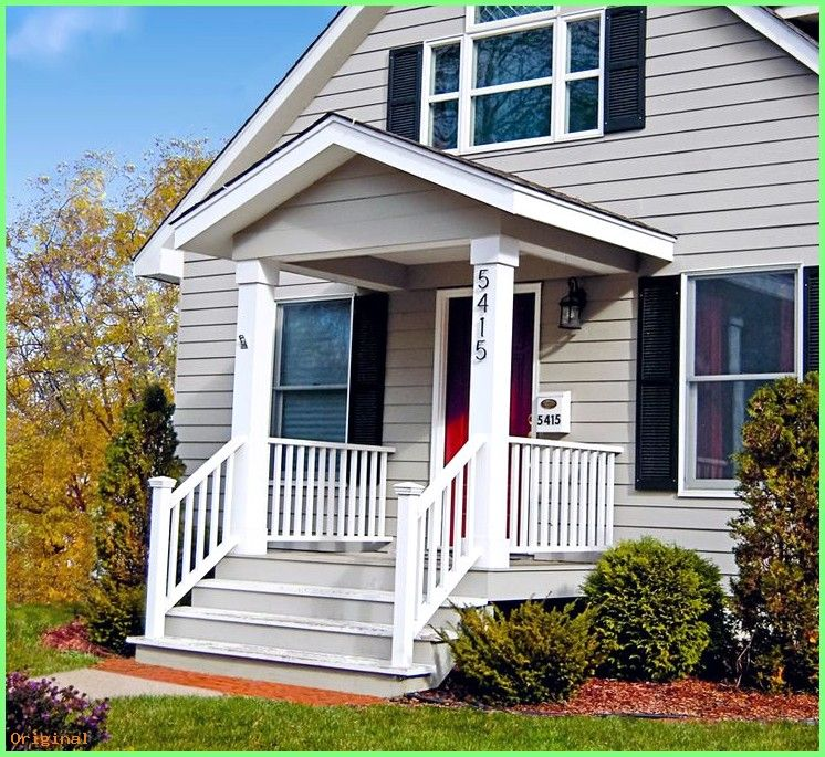 50 Home Decoration Small Porches Small Front Porches Trendy Home Interior Design Bes Small Front Porches Designs Porch House Plans House Front Porch