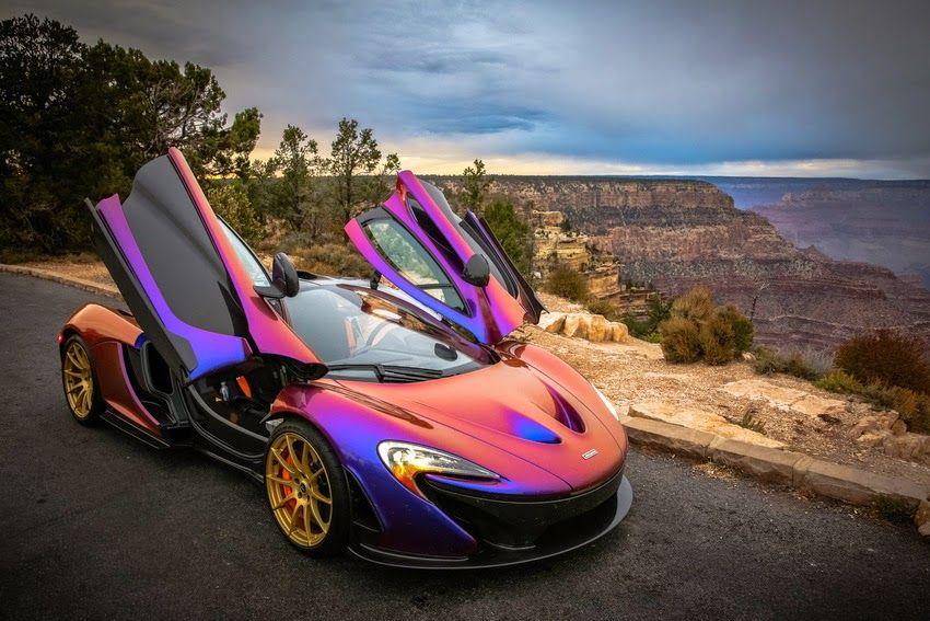Cj Wilson Certainly Has The Most Unique Mclaren P1 Expensive Cars Dream Cars Super Cars