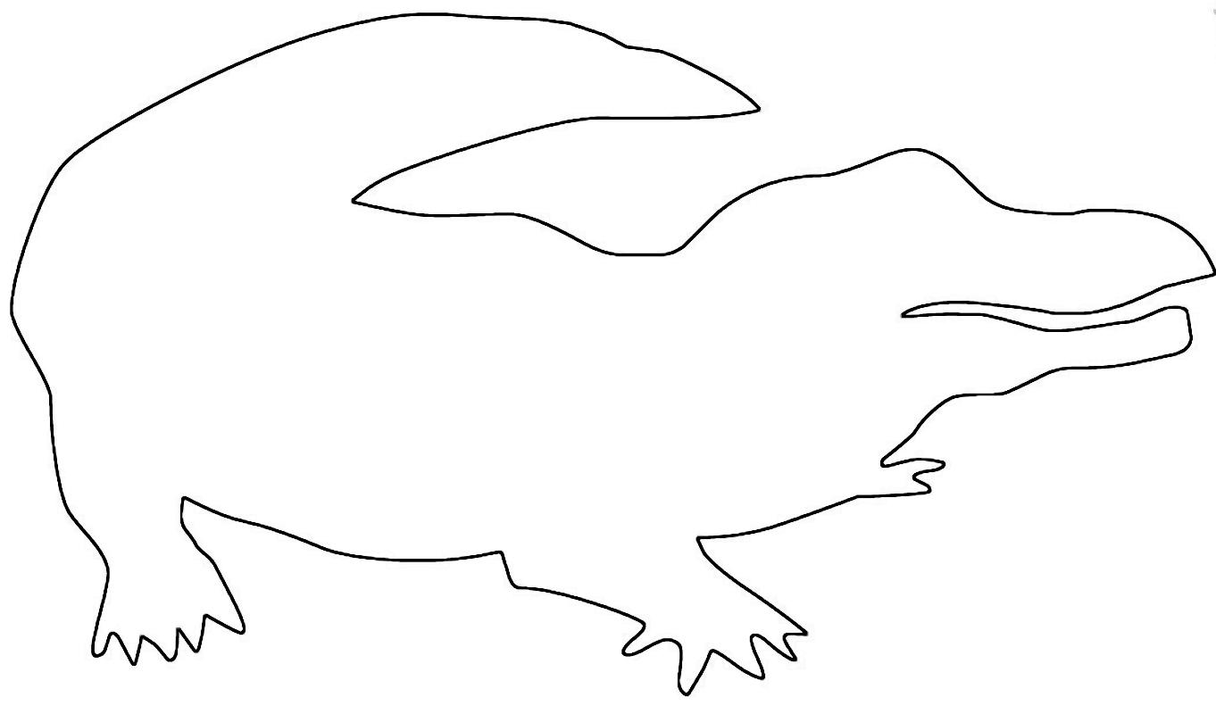 Alligato Wood Saw Pattern