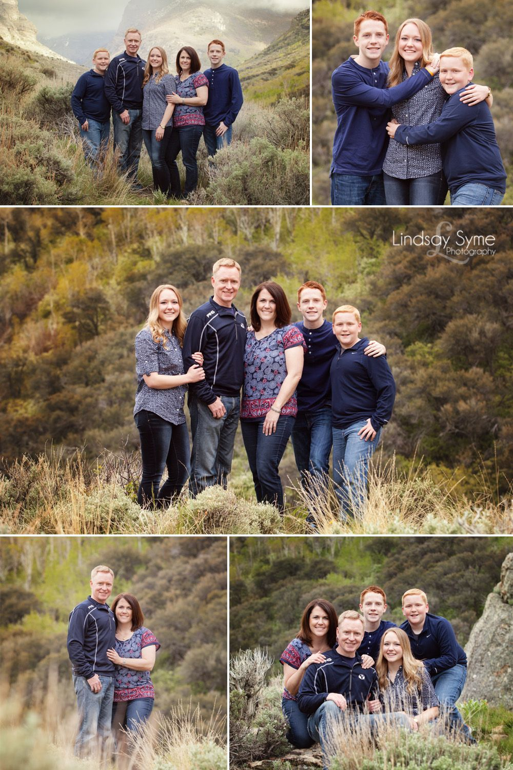 Outdoor Family Photos - Elko Family Photography #winterfamilyphotography