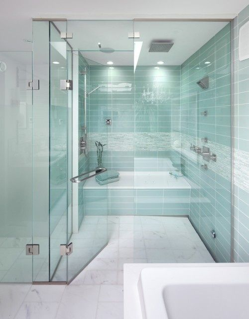 Room Wet Aqua Tiles