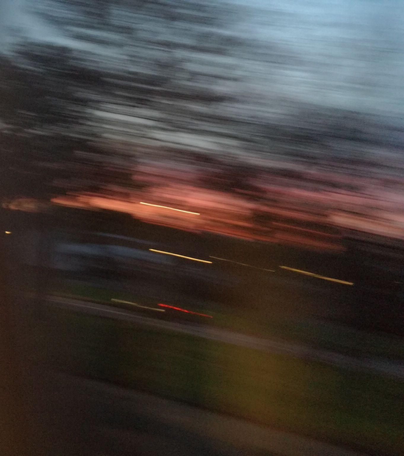 M o o n v e i n s sky blur sunset trees run sky pinterest