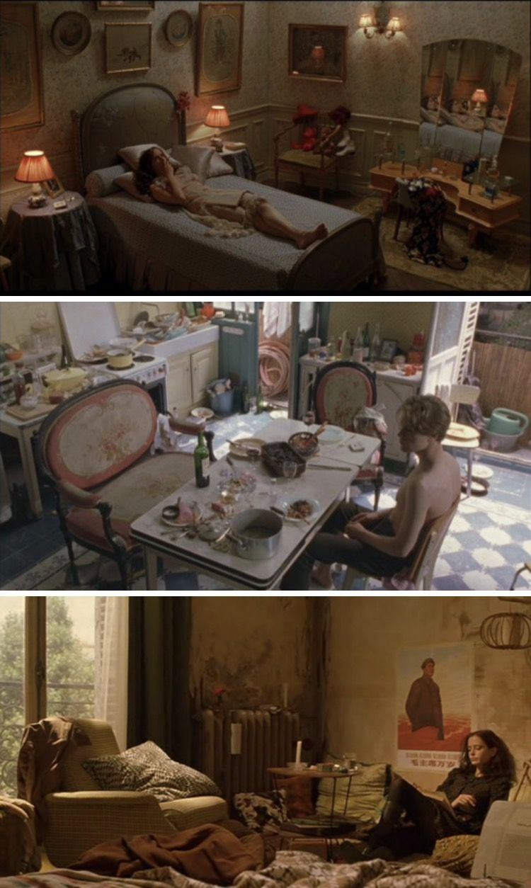 Sofa Paradies 2000 The Dreamers Theo And Isabelle S Apartment Cinematography In