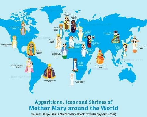 Image result for mother mary and the world for kids