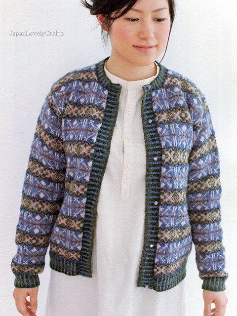 Fair Isle Knitting, Chihiro Sato - Japanese Knit Pattern Book ...