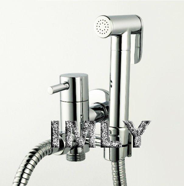 Brass Material High Quality Healthy Faucet Set / Sprayer Bidet ...