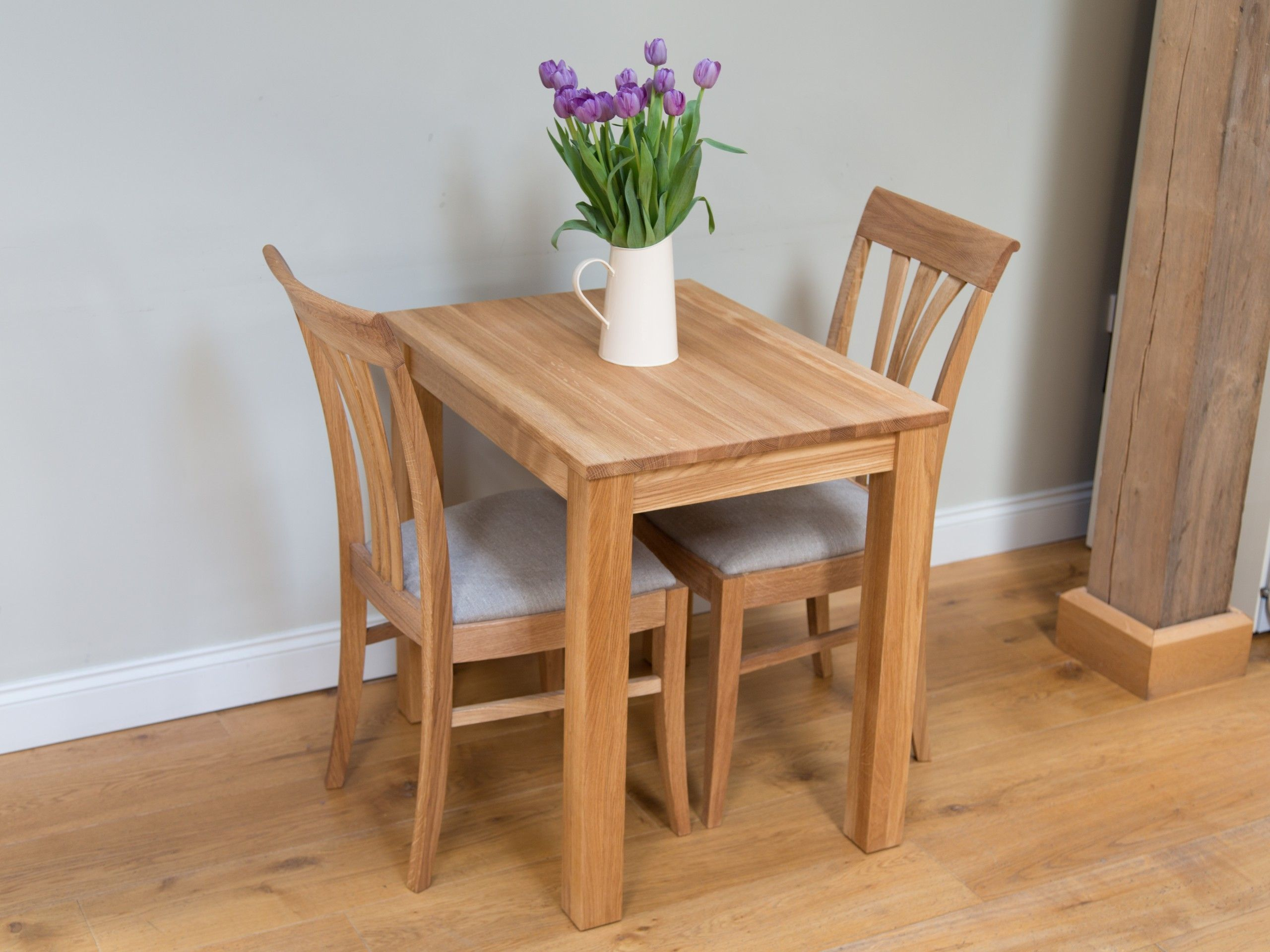 Two Seater Kitchen Table And Chairs Solid Oak Dining Table Square Kitchen Tables 2 Seater Dining Table