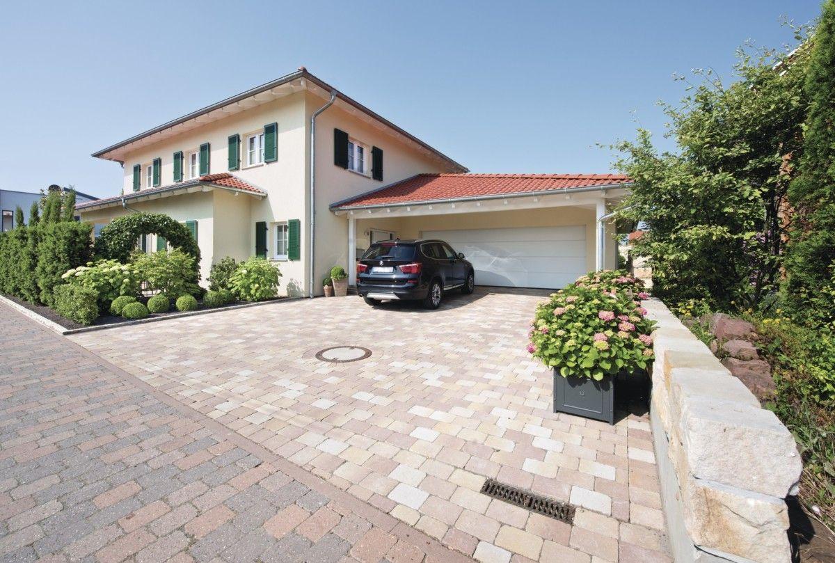 Mediterrane Stadtvilla mit Garage Haus Ideen WeberHaus