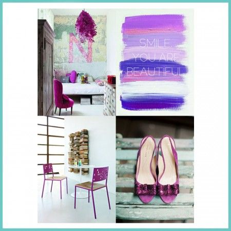 Radiant Orchid - Color of the year 2014