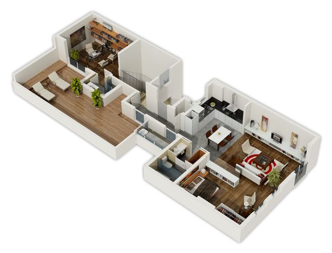 Beautiful Apartment Plans   Google Search