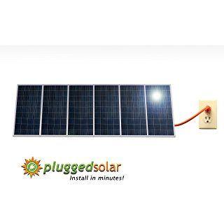 Pluggedsolar 1 74kw Grid Tie Kit Grid Tie Inverter Solar Plug In Solar Panels That Installs In Minutes Ul And Utility Solar Panels Solar Panels Roof Solar