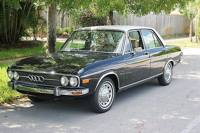 1972 Audi 100ls C1 Mercedes Design 4 Auto Union Vintage Retro