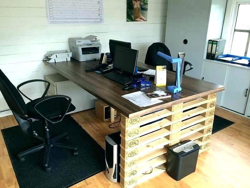 Diy Cool Home Office Diy Diy Office Desk Diy Furniture Making Diy Furniture Made From Pallets