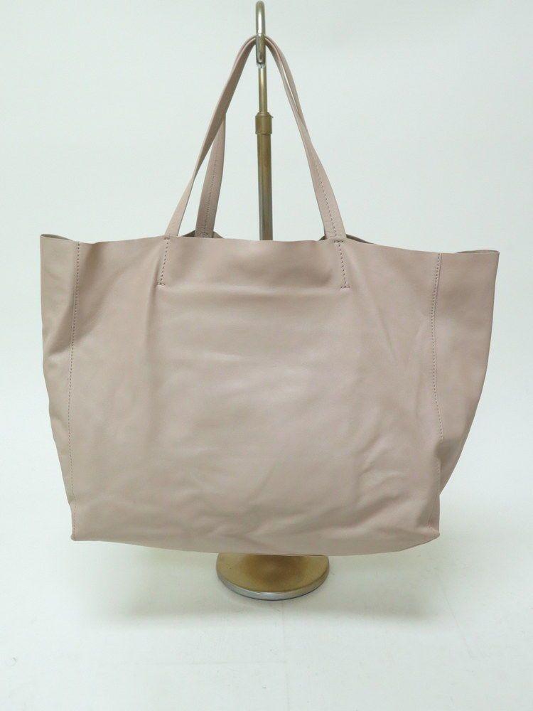 09456e49a74a Celine Tote Bag Horizontal Cabas Lambskin Leather Blush Nude  Celine   TotesShoppers
