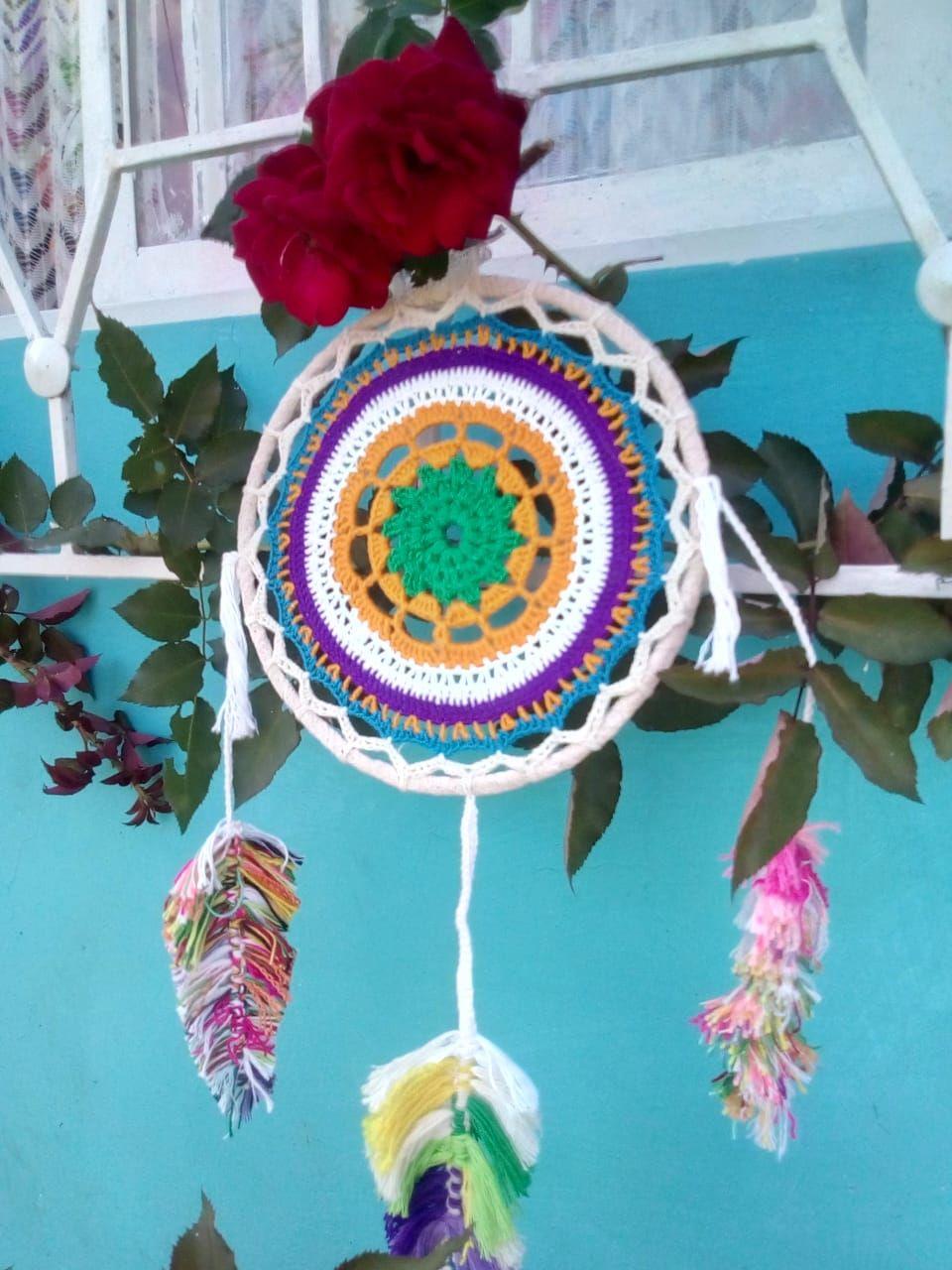 Mandalas en Crochet | Jardin de AtrapaSueños | Pinterest ...