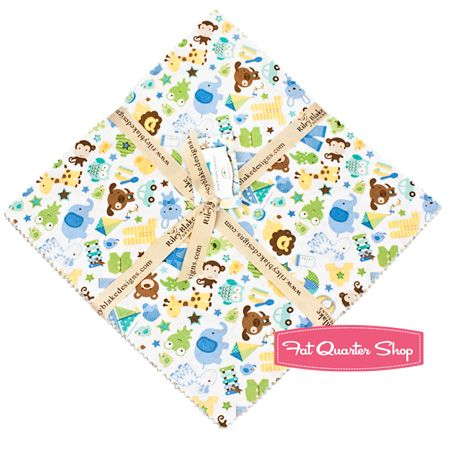 "Snips+&+Snails+Collection+10""+Stacker+Doodlebug+Design+for+Riley+Blake+Designs"