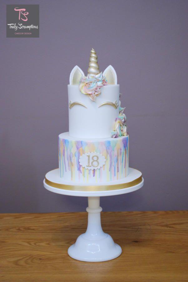 Rainbow Unicorn by Emma Stewart Cakes Cake Decorating Daily