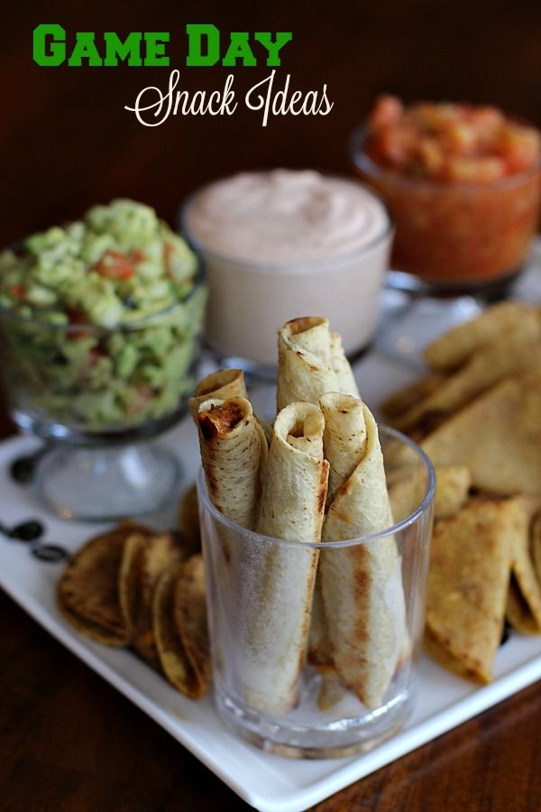 As you prepare for your big game day celebration, #JustSayOle with these awesome snack ideas from @Jose Ole Central! (sponsored)